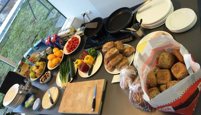 Frühstuck am Gesundheitstag