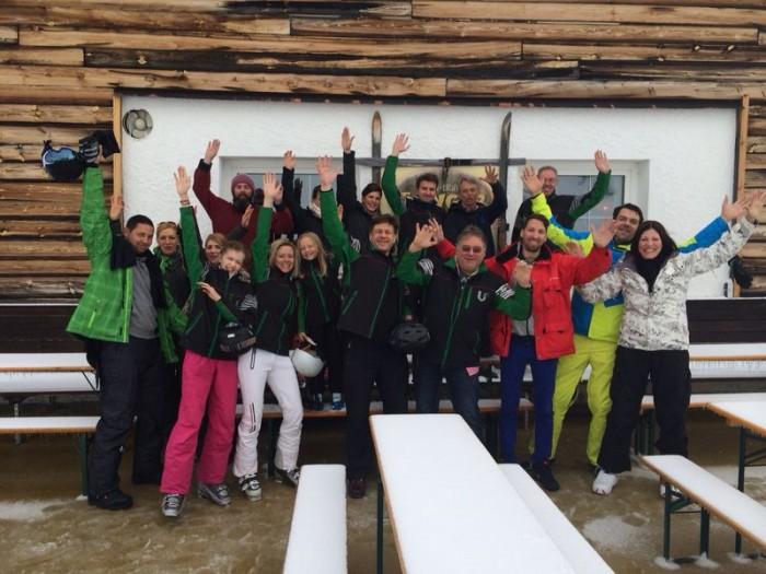 Die U² Skimannschaft